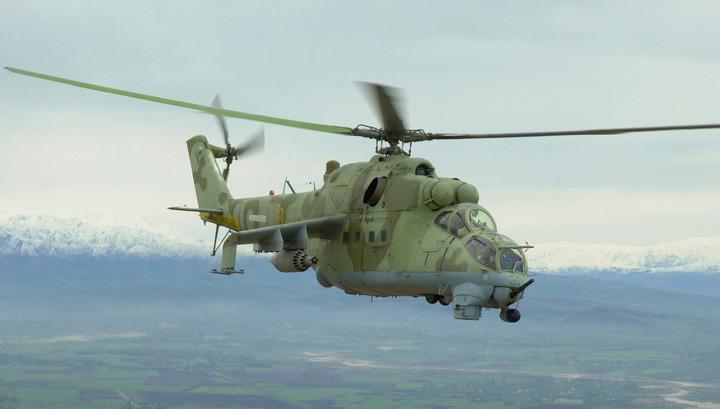 Rusiyaya məxsuz Mi-24 helikopteri Suriyada qəzaya uğrayıb