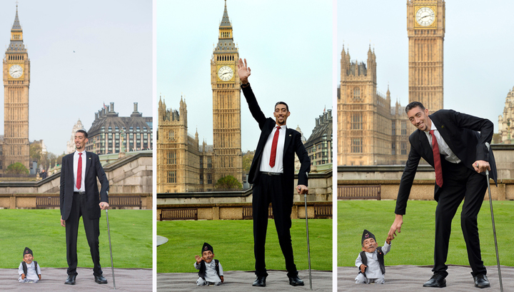 самый большой в мире фото человек