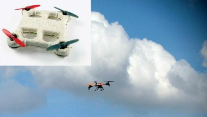 Биодрон сделан из грибков и бактерий и разлагается после крушения