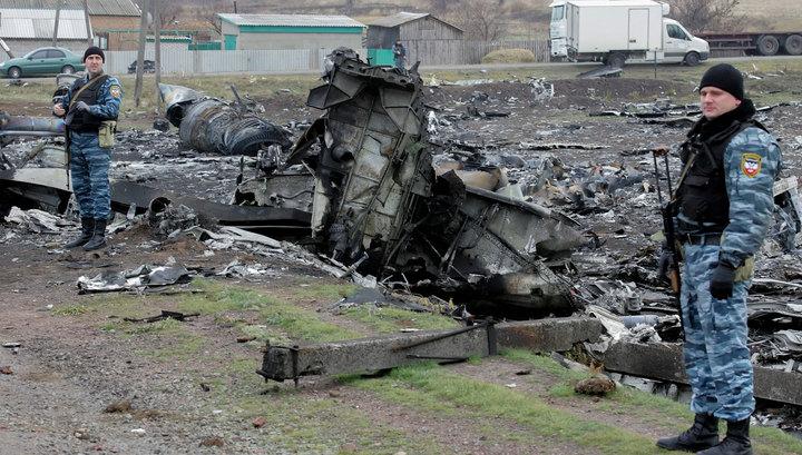 """Ополченцы собрали все заинтересовавшие экспертов обломки """"Боинга"""""""
