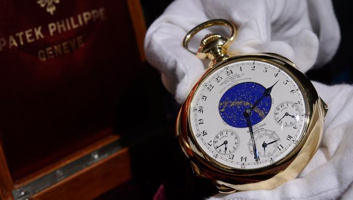 c4be779835f0 Золотые часы, проданные на торгах за 21 миллион долларов, оказались прокляты