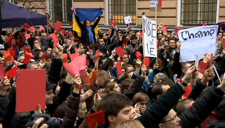 """""""Я не боюсь"""": Прагу сотрясают протесты, но Милош Земан верен своей позиции"""