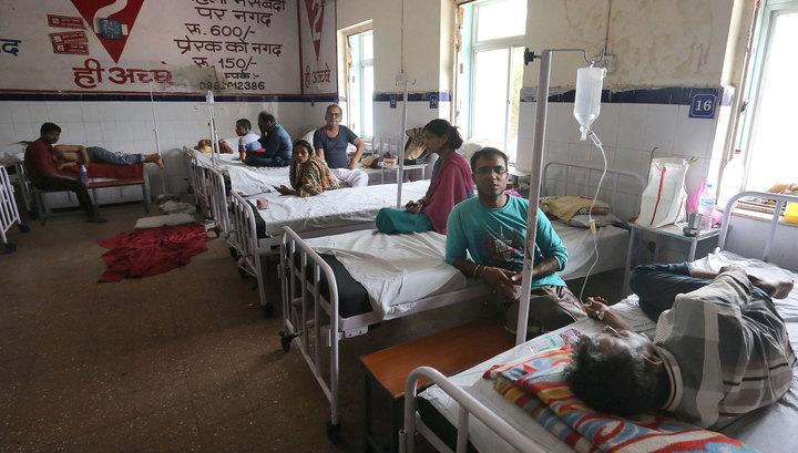 На юго-востоке Индии водоворот утянул 13 человек