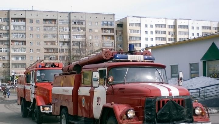 При пожаре в Москве погиб человек