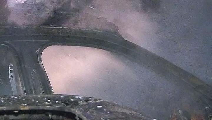 Хулиганы сожгли в Париже 804 автомобиля за одну ночь