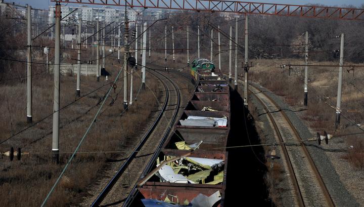 Обломки Boeing, потерпевшего крушение под Донецком, доставлены в Харьков