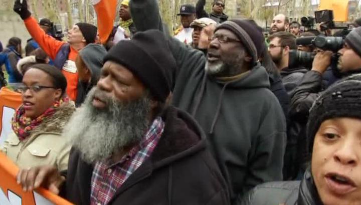 Волна протестов докатилась до Нью-Йорка