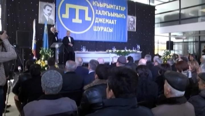 В Симферополе крымские татары обсуждают управление полуостровом
