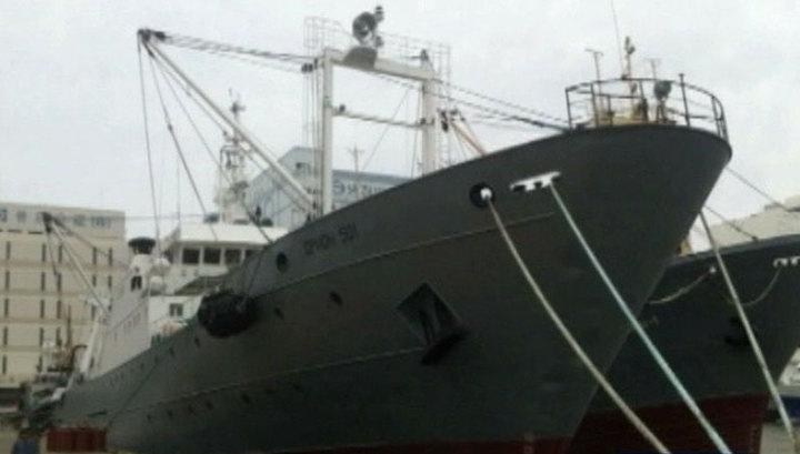 """Южнокорейцам передали тела 14 погибших моряков """"Орионга"""""""