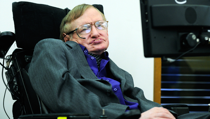 Известного физика Стивена Хокинга провели в последний путь