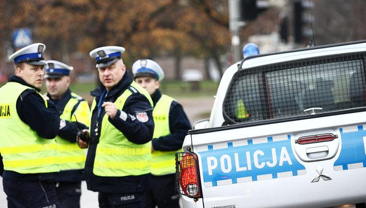 Польские полицейские вынужденно открыли огонь по украинцам и грузинам