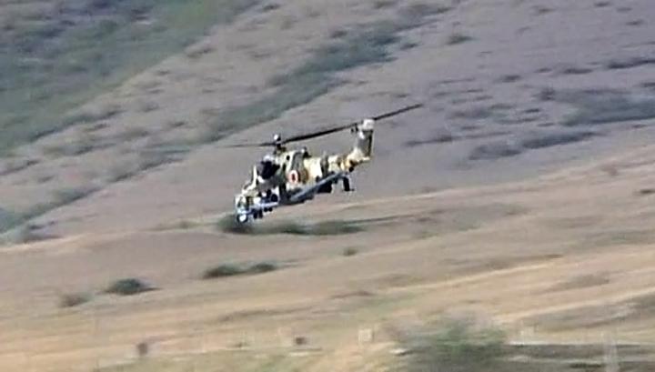 Грузия: российский военный вертолет нарушил воздушное пространство