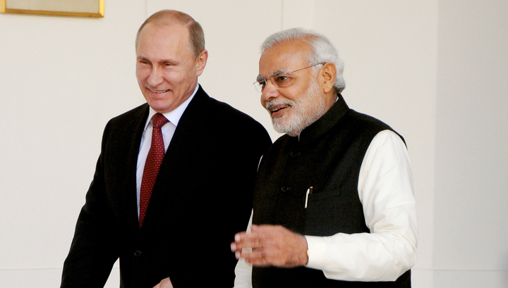 Путин: Индия является привилегированным стратегическим партнером России