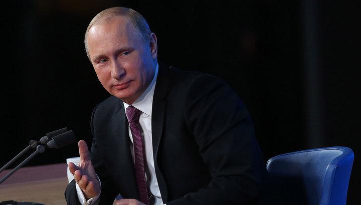 Большая пресс-конференция Владимира Путина: последние приготовления