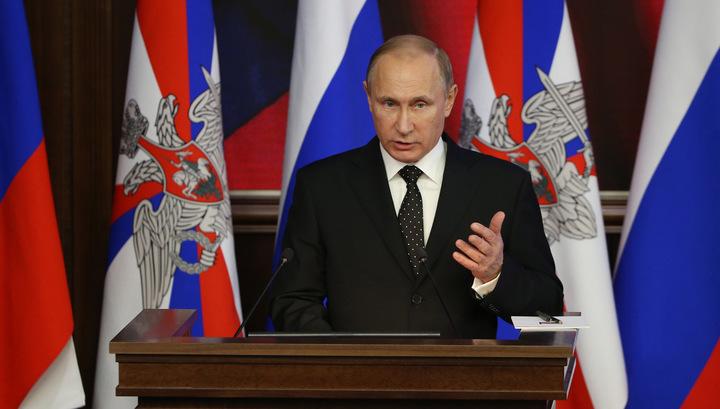 Путин: российская армия обретает новый облик