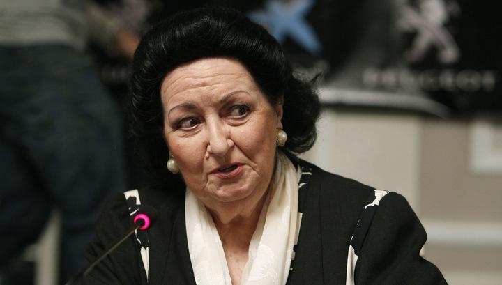 Монсеррат Кабалье госпитализирована