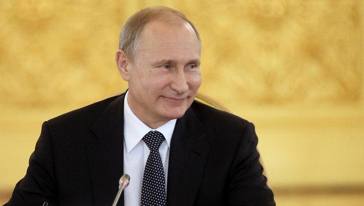 Владимир Путин поздравил православных христиан с праздником Рождества