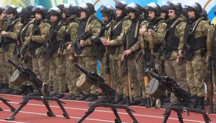 Боевая пехота Владимира Путина готова к любому приказу