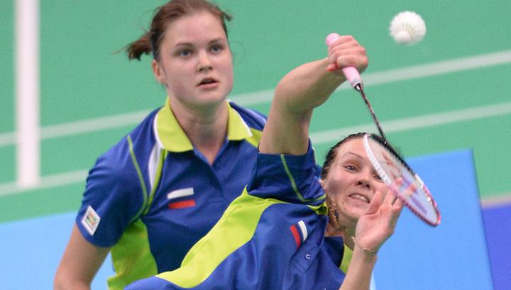 Бадминтонистки сборной России одержали вторую победу на чемпионате Европы