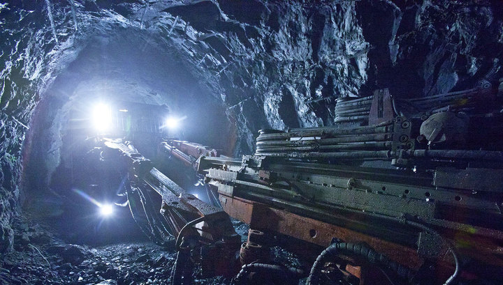 Работа шахты