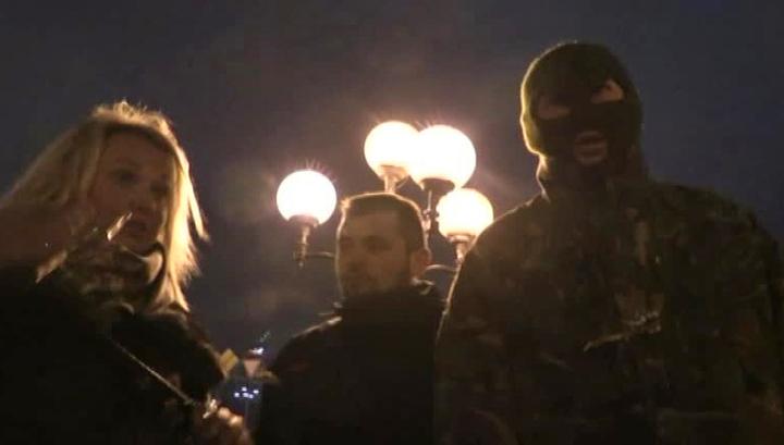 Журналисты LifeNews снова попали под руку националистов в Киеве