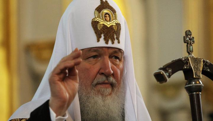 """Сирийские сироты отблагодарили Патриарха за подарки """"Катюшей"""""""