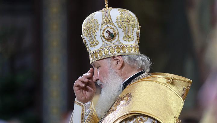 В Кремле Патриарх помолился о российских олимпийцах