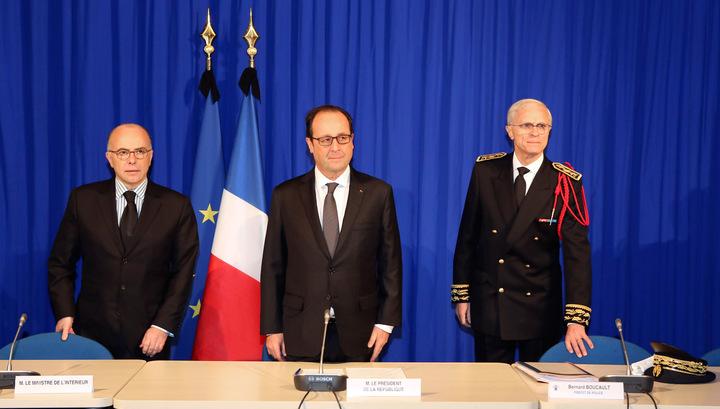 После бойни в Париже Олланду предложили ввести ЧП