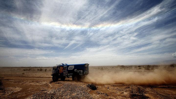 """Российские """"КамАЗы"""" выиграли зачет грузовиков на Africa Eco Race"""