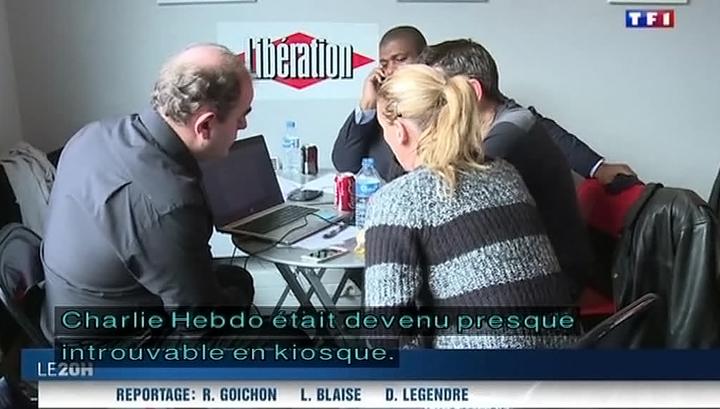 """Доходы """"Шарли Эбдо"""" после появления свежего номера составили 10 миллионов евро"""