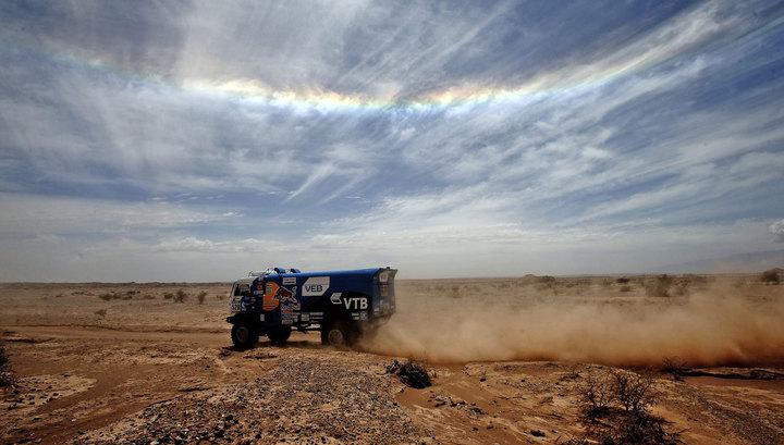 "Победителями Africa Eco Race стали пилоты команды ""КамАЗ-МАСТЕР"""