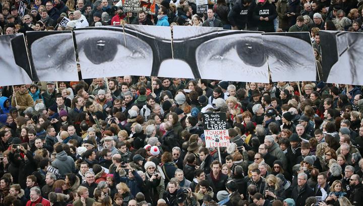 В Париже стартовал миллионный Марш солидарности