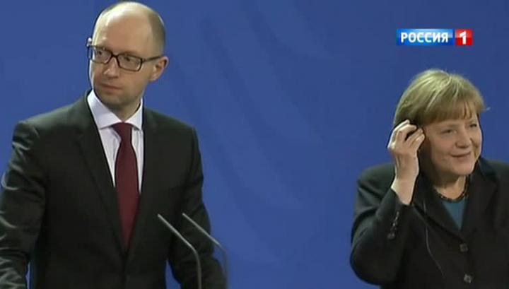Яценюк признался в том, что он нацист