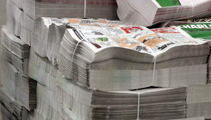 """""""Выпуск выживших"""": второй день подряд у парижских газетных киосков выстраиваются очереди"""