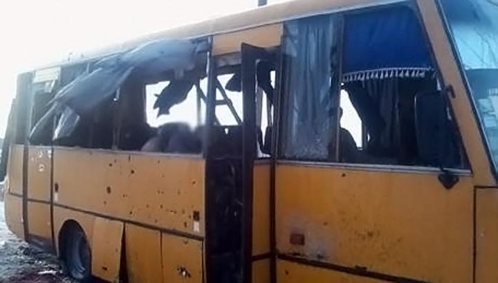 Обстрел автобуса под Волновахой: число жертв выросло до 12