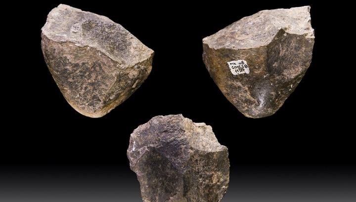 Образцы орудий Олдувайской культуры возрастом 1,7 млн. лет