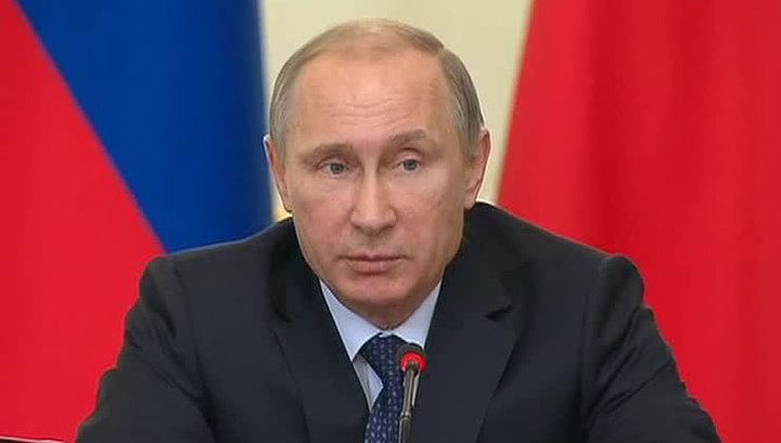 Путин: Россия ответит на вызовы других стран без гонки вооружений