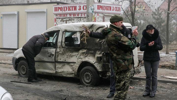 Армия ДНР: обстрел Мариуполя - провокация украинских силовиков