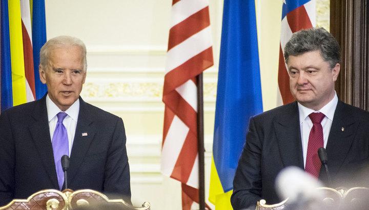 Байден предупредил Порошенко, что ЕС ищет предлог для отмены санкций