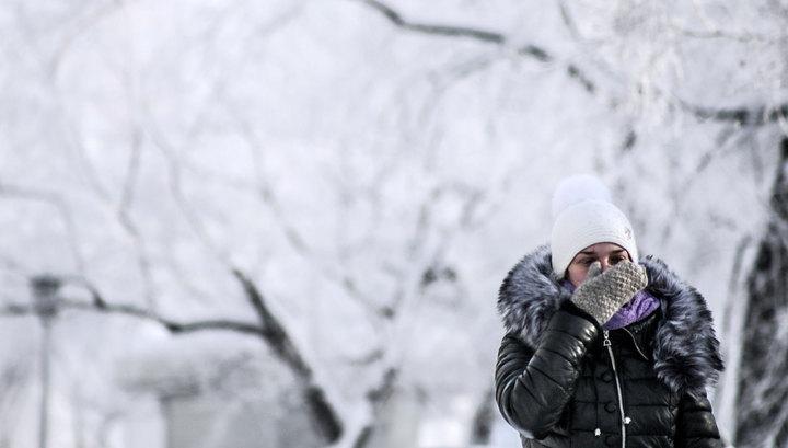 Сибирь и Приморье может сковать аномальными морозами