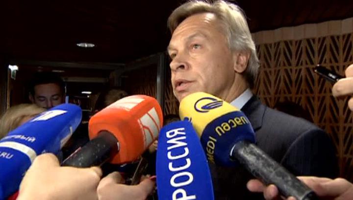 Пушков: продление санкции ПАСЕ ставит вопрос о выходе России из Совета Европы