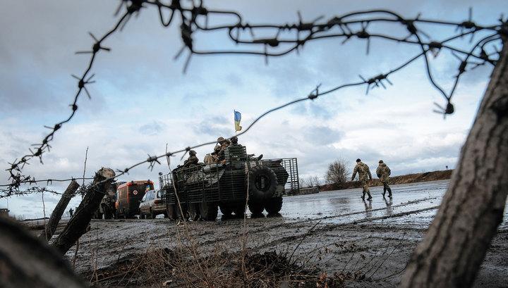 Украинские силовики пытаются вырваться из Дебальцевского котла