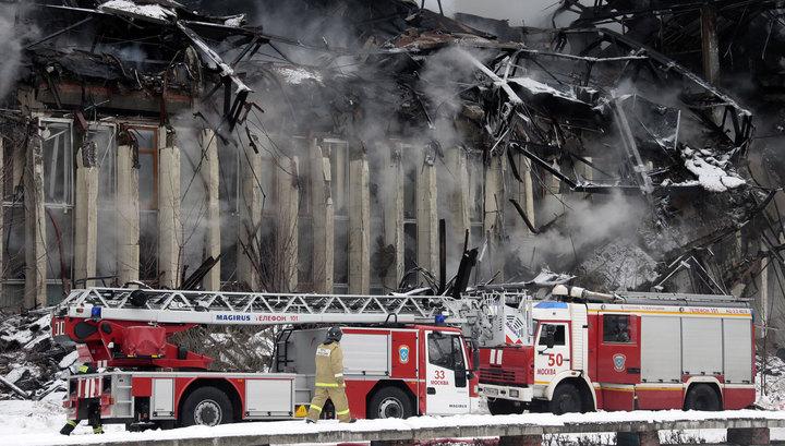 Спасенные от огня книги библиотеки ИНИОН теперь спасают от воды