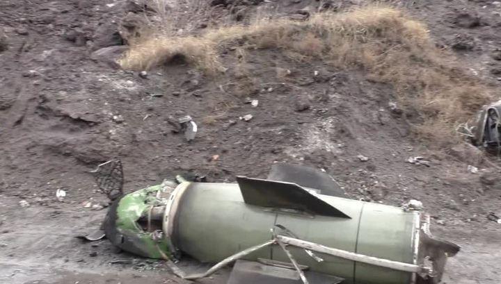"""Ополченцы под Луганском сбили украинскую """"Точку У"""""""