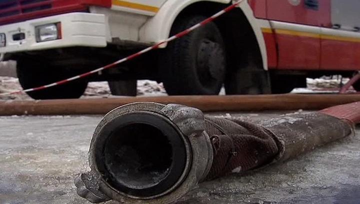 Загоревшийся газопровод в Подмосковье потушен, идет его ремонт