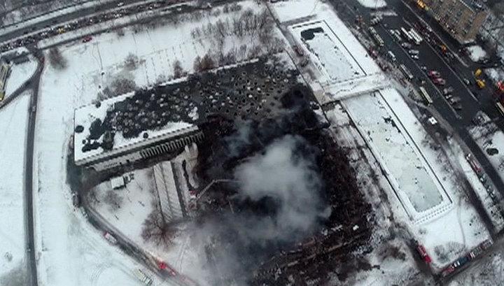В Москве оперативники изъяли книги, украденные из библиотеки ИНИОН после пожара