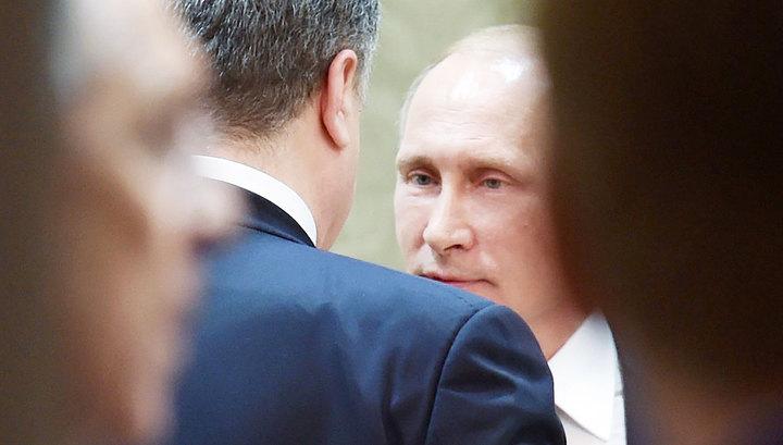 Песков: никто не говорил о встречах Путина и Порошенко