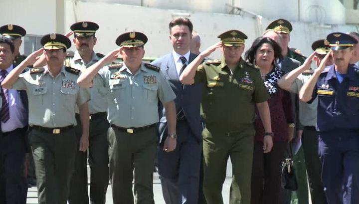 Сергей Шойгу в Никарагуа подписал соглашения в сфере военного сотрудничества