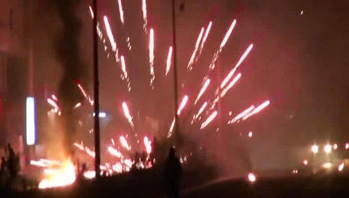 Курдский митинг в Турции перерос в массовые беспорядки