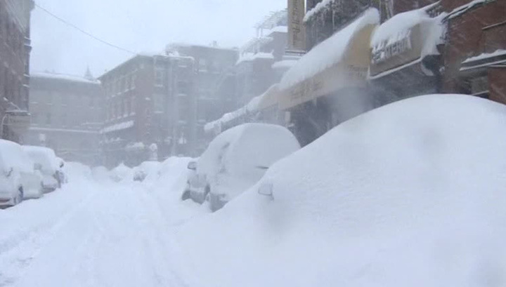 Снегопад в Чехии: два человека погибли, 10 человек и более 30 машин пострадали